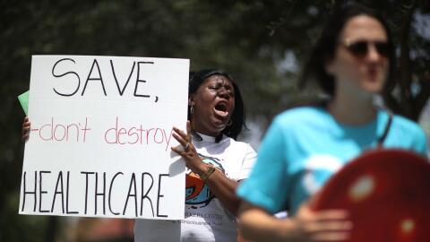 """""""Salven los servicios de salud, no los destruyan"""". Trenise Bry..."""