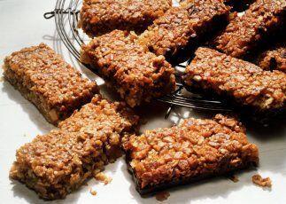 Barras de granola de chile y chocolate: Estas barras de granola que no s...