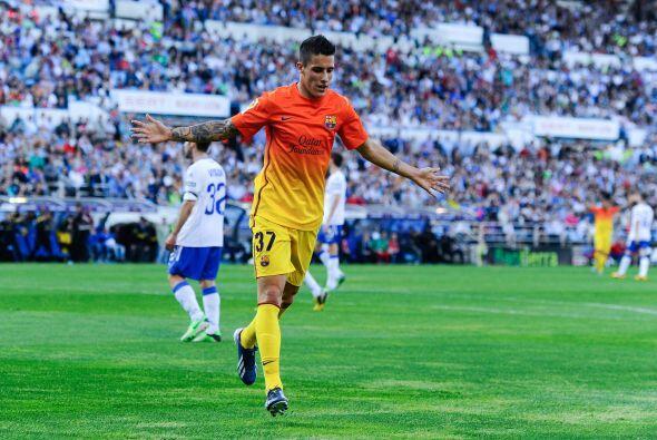 Ante la ausencia de Lionel Messi, Tello no tuvo problemas en ser la figu...