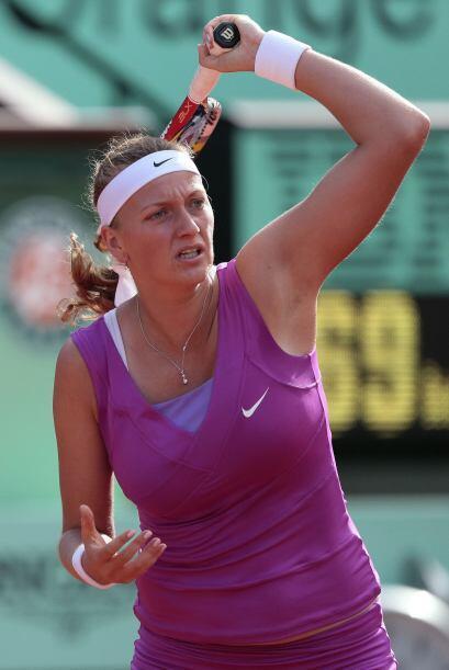 Kvitova no pudo ante la contundencia de la segunda favorita del torneo s...