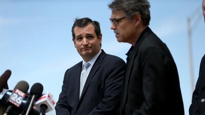 Rick Perry y Ted Cruz