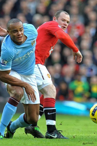 El comienzo del partido tuvo a un Manchester City más seguro con la pelo...