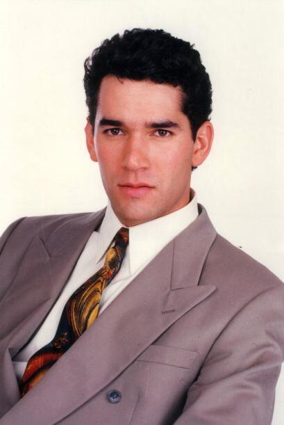 Eduardo Santamarina en 1992, tenía 23 años.
