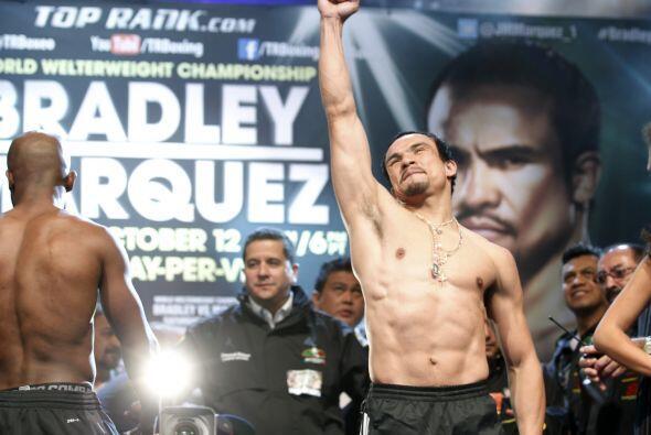 Márquez agradeció el apoyo de la gente que lo fue a alenta...