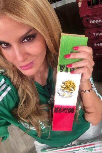 Malillany siempre apoyó a la selección de México. T...