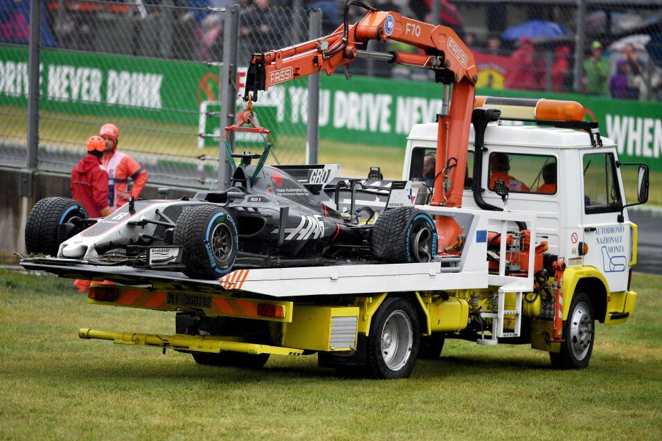 NC. Romain Grosjean (HAAS Ferrari) - Mejor tiempo: 1:43.355 / 3 vueltas