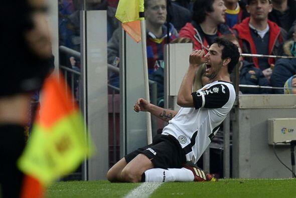 Sobre el final del primer tiempo Parejo empató el partido y abrió la esp...