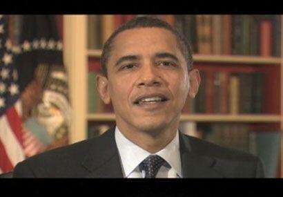 Elvisss Crespoooo, parecía decir Obama con esta cara de desaprobación, ¿...
