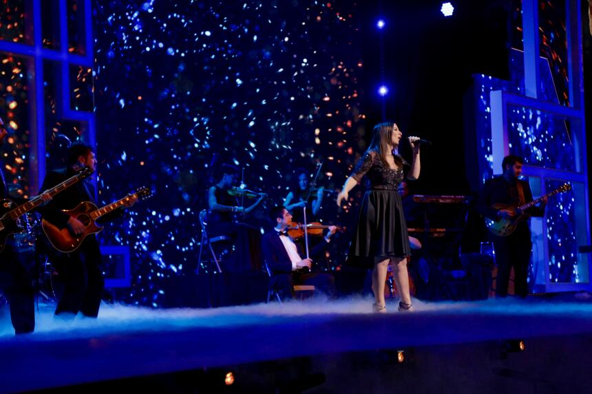 Laura Pausini llenó el escenario con su magia en TeletónUSA