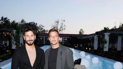 Esta es la foto con la que el esposo de Ricky Martin alborotó las redes sociales