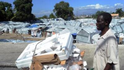 A dos años de la tragedia, se calcula que medio millón de haitianos sigu...