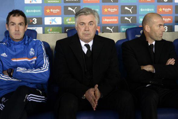 El técnico Carlo Ancelotti conocía la dificultad que puede tener una vis...
