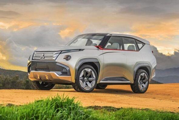 Mitsubishi GC-PHEV: Su diseño exterior está marcado por la robustez de s...