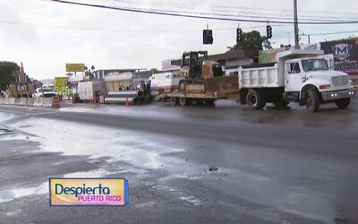 Continúan labores de mantenimiento en la carretera 199 en Bayamón