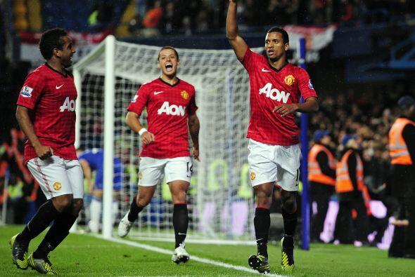 Volvió a adelantarse el United con un tanto del portugués...