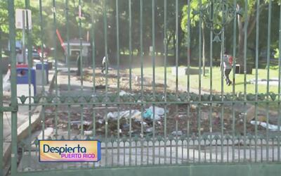 Activan trabajos de limpieza en el recinto universitario de Río Piedras...