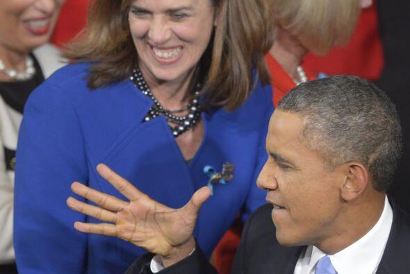 """""""Como presidente, mi compromiso es hacer que Washington funcione mejor"""",..."""