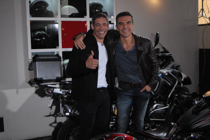 Johnny Lozada y Adrián Uribe