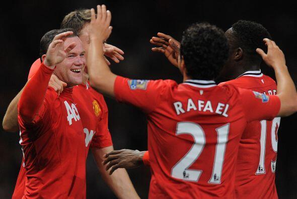 'Wazza' Rooney es de los mayores anotadores en la actual campaña...