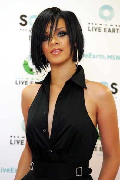 """La afición de la cantante por cambiarse el """"look"""" cada vez se ha hecho m..."""