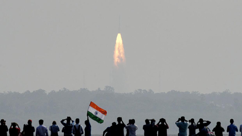 El cohete colocó en órbita 104 satélites en apenas 18 minutos.
