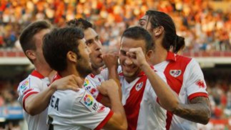 El Rayo logró su segundo triunfo de la temporada al vencer a la Real Soc...