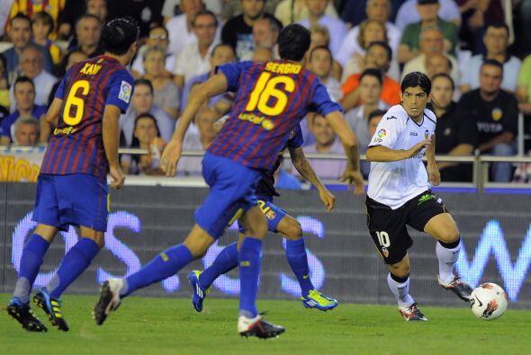 Pero lo importante era el juego y ya en el campo el Valencia aprovechó c...