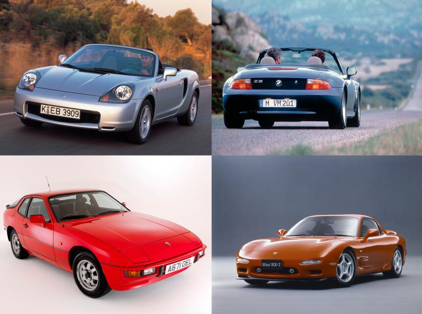 Autos deportivos que puedes comprar por menos de 5,000 dólares