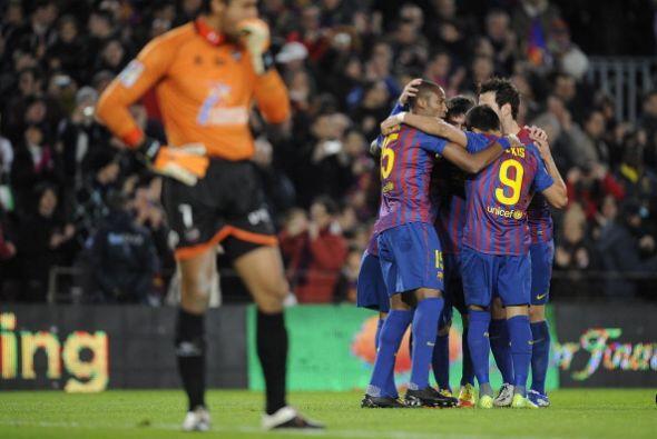 El Barcelona le dio una clase al Levante.
