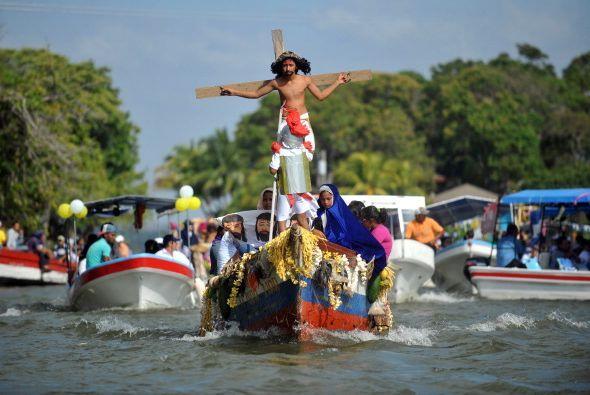 Se celebra entre los islotes del lago Cocibolca en Nicaragua.