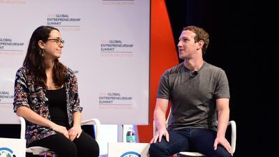Mariana Costa Checa pudo hablar con Mark Zuckerberg.