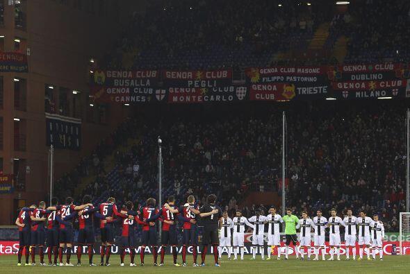 En el otro partido, Génova levantó un tremendo partido ante el Parma.