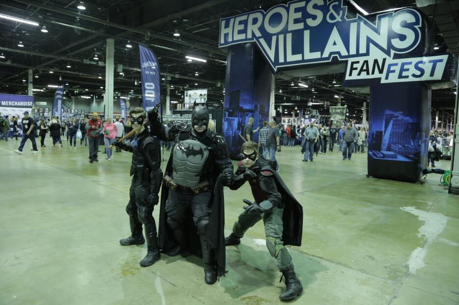Convención de Héroes y Villanos en Chicago