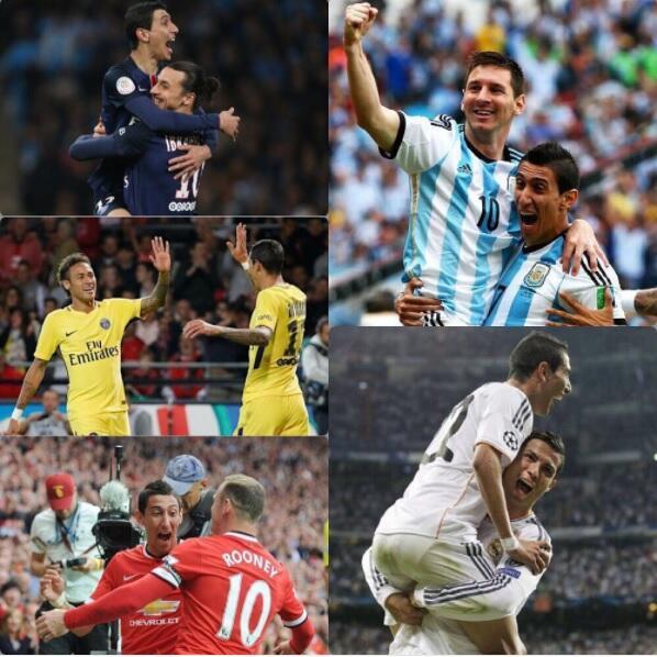 Los 'suertudos' que jugaron con Ángel Di María 15.jpg
