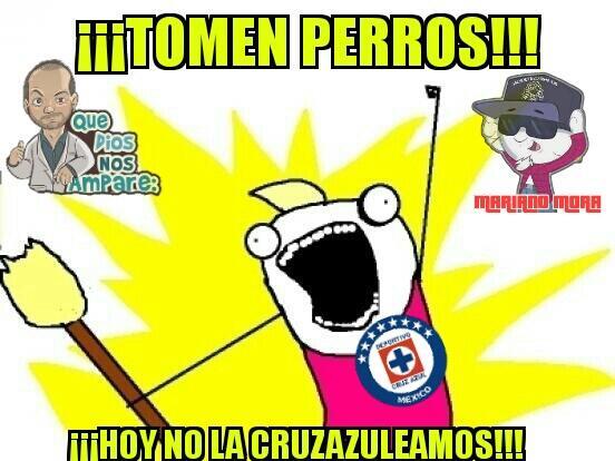 Ahora los memes celebraron los triunfos de Cruz Azul y Necaxa.