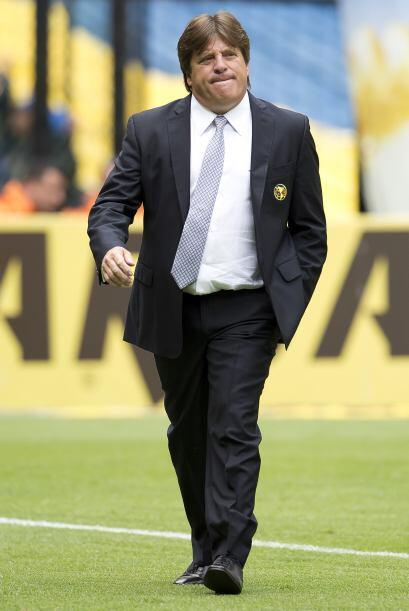 1.- Miguel Herrera arrancó el 2013 con dos temporadas en Am&eacut...