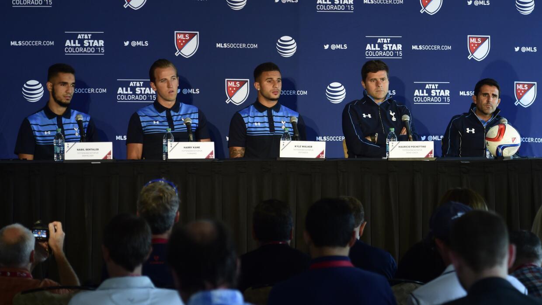 Tottenham en conferencia de prensa previo al All-Star