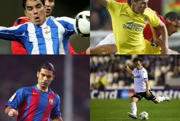 Para la temporada 2008-2009, militaban en España: Rafael Márquez, Andrés...