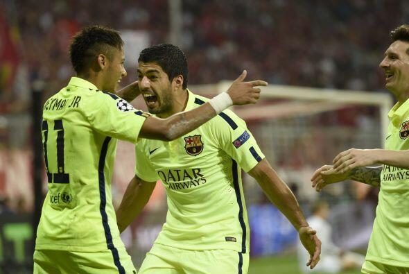 El tridente ofensivo del Barcelona es apodado la MSN a partir de la lleg...