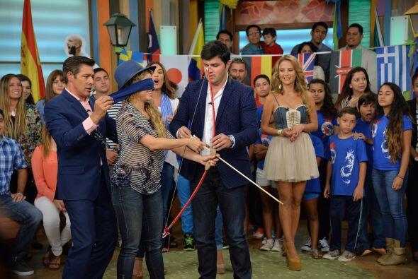 ¿Holanda o Argentina? Shakira prefirió llevar los ojos vendados para lan...
