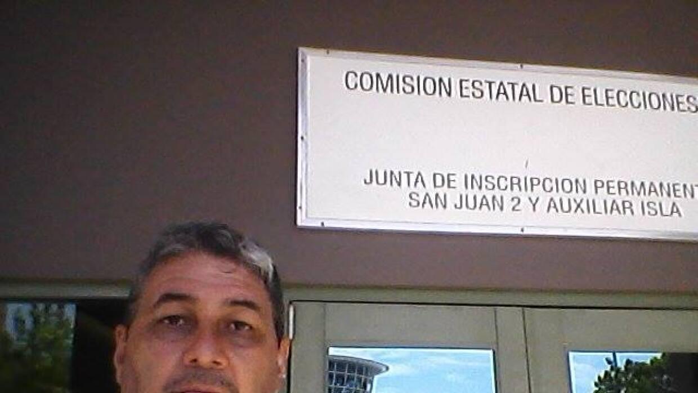 Visitó la Comisión Estatal de Elecciones para oficializar su candidatura