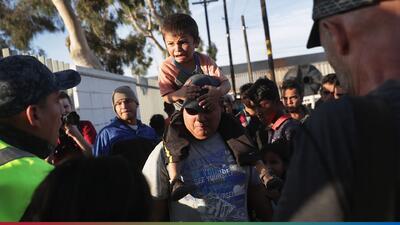 Nueva caravana de migrantes salvadoreños se encuentra en camino hacia la frontera norteamericana