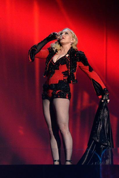 Madonna dejó sin aliento a todos en la 57a. entrega de los GRAMMY.