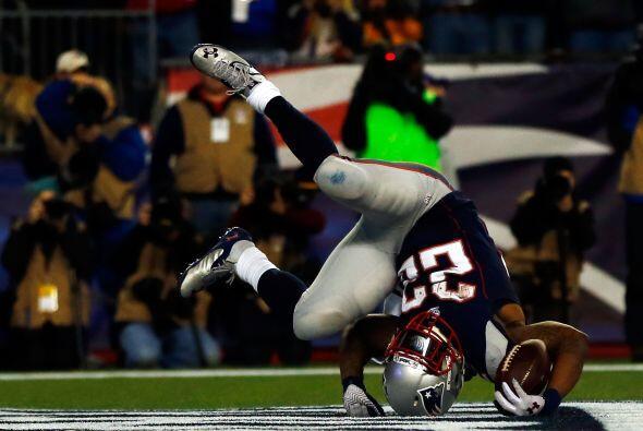 Después del descanso, los Patriots no tardaron en anotar (13-24), en la...