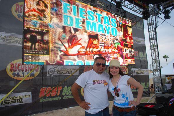 ¡Todos vivimos Fiestas de Mayo en Playa Caliente con mucha alegría!