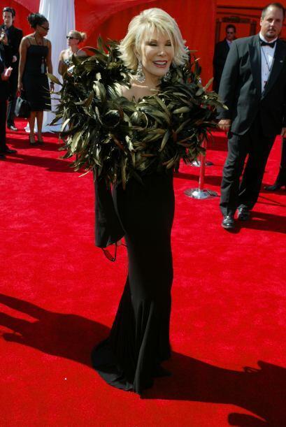 ¿Acaso se acordará Joan Rivers de este modelito que lució en 2003? Segur...