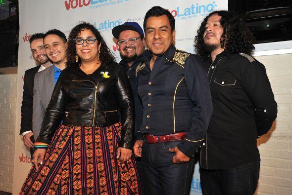 Mira más fotos del evento con mucha presencia de hispanos.