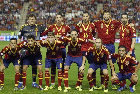 España está ubicada en el Grupo B junto a Holanda, Chile y Australia