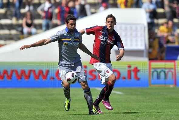 Bologna y Parma se enfrentaron buscando alejarse de la zona del descenso.