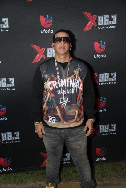 El Cangri Daddy Yankee se echó en un bolsillo al público de 96.3 La X qu...
